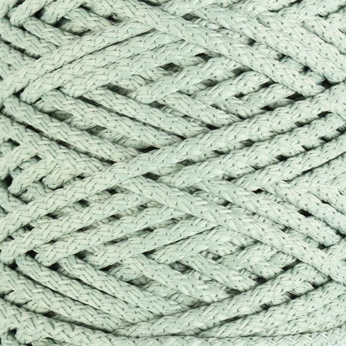 шнур для вязания с сердечником 100 полиэфир ширина 5 мм 100м550гр