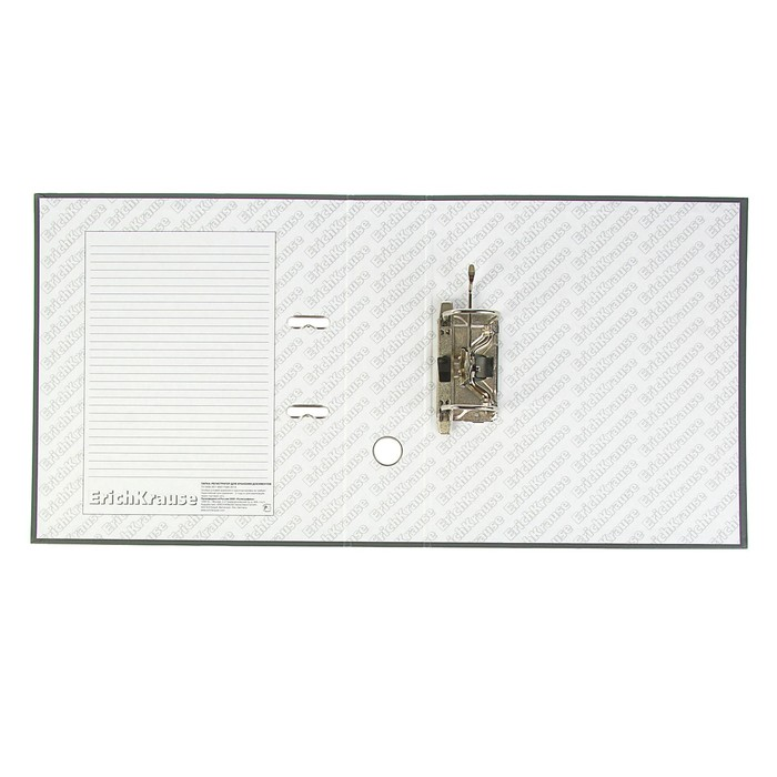 Папка-регистратор А4, 70 мм, GRANITE, разборный, серый, пластиковый карман, картон 1.75 мм, вместимость 450 листов - фото 438351805
