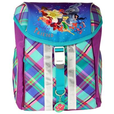 Рюкзак на замке с эргономичной спинка 37х28х19см Erich Krause Ergo-Mini Disney Феи и невиданный зверь