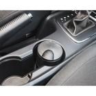 Пепельница для авто с крышкой черная, 6,5х10 см