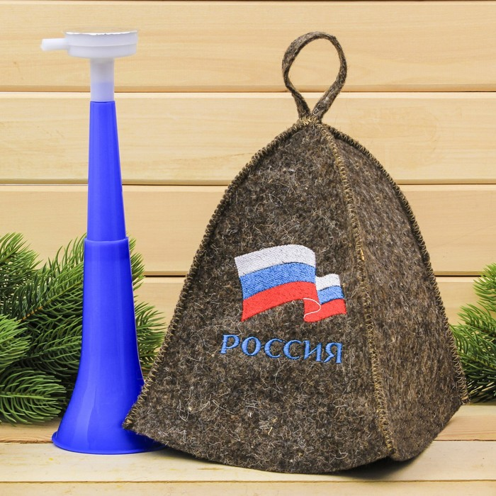 """Набор""""Россия"""": шапка и дудка"""