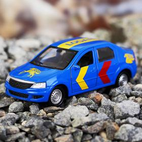 Машина металлическая Renault Logan, открываются двери и багажник