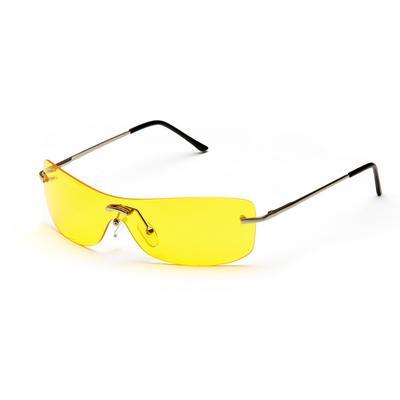 Водительские очки SPG «Непогода | Ночь» серебро comfort, в комплекте чехол SPG и салфетка