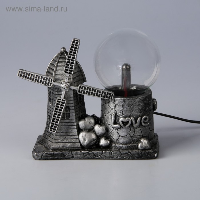 "Плазменный шар полистоун ""Голландская мельница"" МИКС 15,5х15х7,5 см"