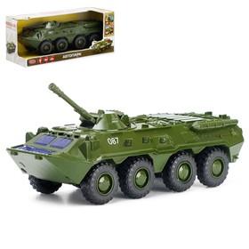 Машина инерционная «Военная», масштаб 1:35, световые и звуковые эффекты