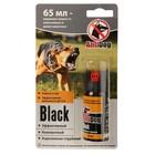 Средство защиты  AntiDog Black от агрессивных животных, спрей, 65 мл