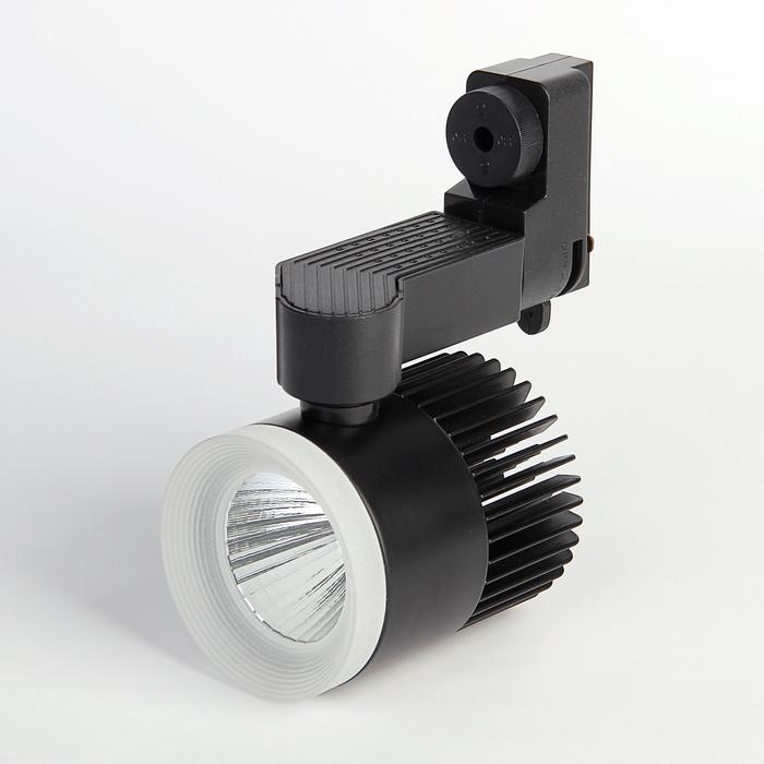 Трековый светильник Luazon TSL-006, 12 W, 960 Lm, 4000 K, холодный свет, корпус ЧЕРНЫЙ