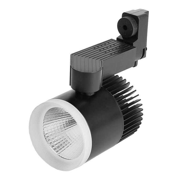 Трековый светильник Luazon TSL-009, 20 W, 1600 Lm, 6500 K, холодный белый, корпус ЧЕРНЫЙ