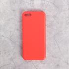 Чехол для телефона Melkco накладка красный, для iPhone 5С