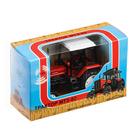 Трактор МТЗ-82 Люкс-2 красный с белой кабиной 1:43 160364