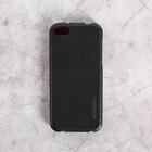 Чехол для телефона HOCO для iPhone 5s/ 5/ 5C черный, кожа