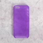 Чехол для телефона XINBO накладка для iPhone 5/5s фиолетовый, пластик
