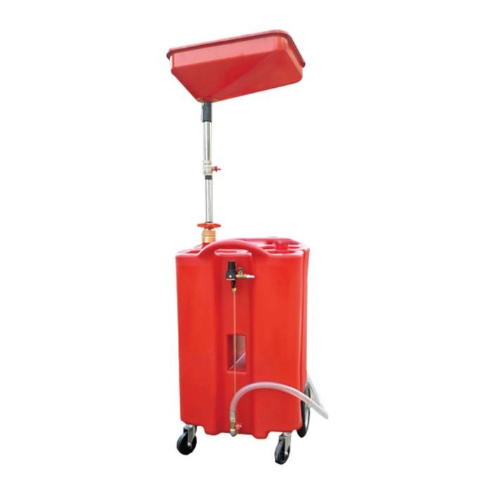 Установка для слива жидкостей WIEDERKRAFT WDK-89026, ёмкость 100 л.