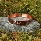"""Bracelet """"the Fruit of the sun"""", copper, diameter 55-75 mm"""