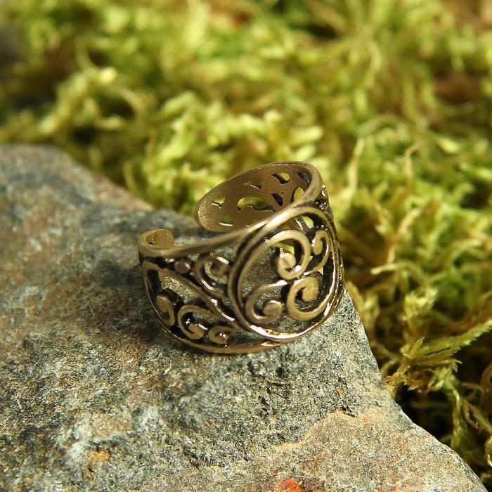 Перстень «Бога семена», литой, латунь, D=17-21 мм