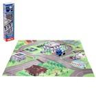 Набор игровой «Полицейский участок», с игровым ковриком и инерционной машиной - фото 76293577