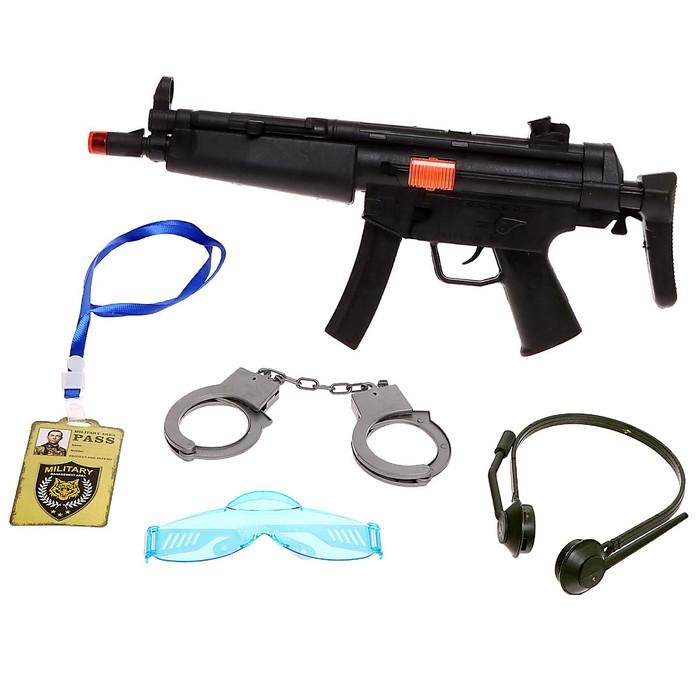 Набор полицейского «М16», 5 предметов