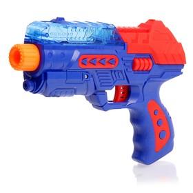 """Пистолет """"Страйк"""", стреляет гелевыми шариками, без лазера, цвета МИКС"""