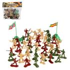"""A set of toy soldiers """"World battle"""" with accessories"""