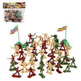 Набор солдатиков «Мировое сражение», с аксессуарами