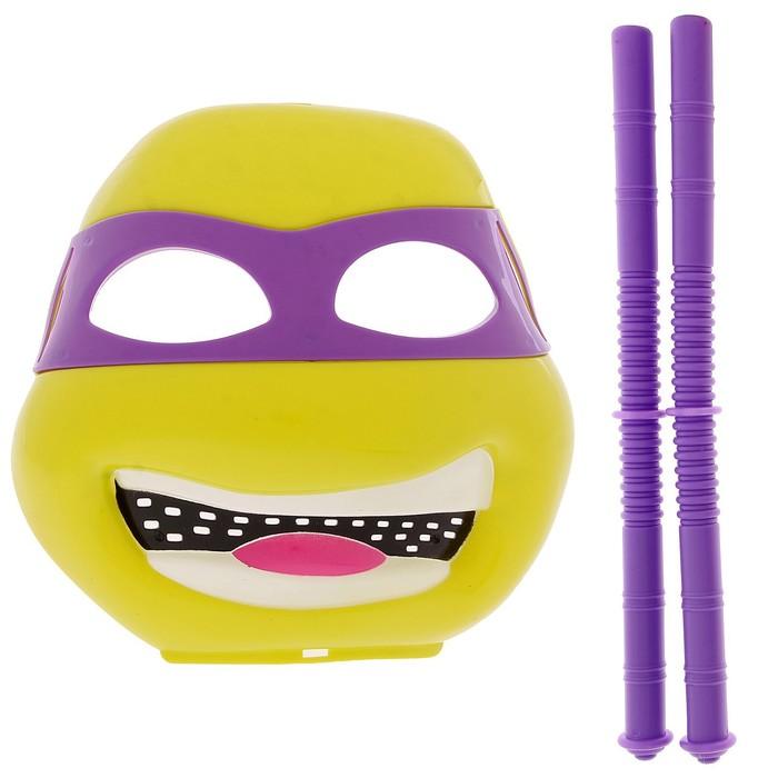 Набор героя «Ниндзя», маска и 2 дубинки