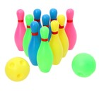 Set bowling Strike, 10 pins, 2 balls