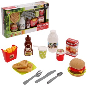 """A set of products """"Cooking"""" with instruments"""