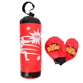 Детский боксёрский набор 'Король бокса' Ош