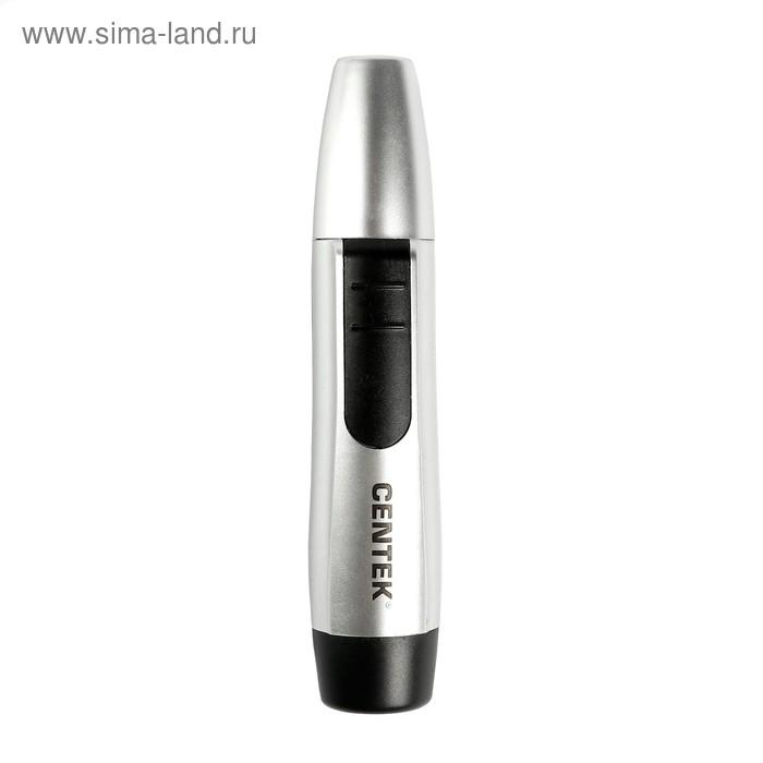 Триммер Centek CT-2180, д/носа и ушей, питание 1хAA, серый/черный