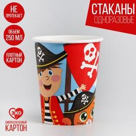 Стакан бумажный «Пират», 250мл