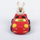 """Резиновая игрушка """"Пёсик за рулём 4"""""""
