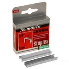 Скобы для мебельного степлера MATRIX MASTER, 6 мм, тип 140, закаленные, 1000 шт.