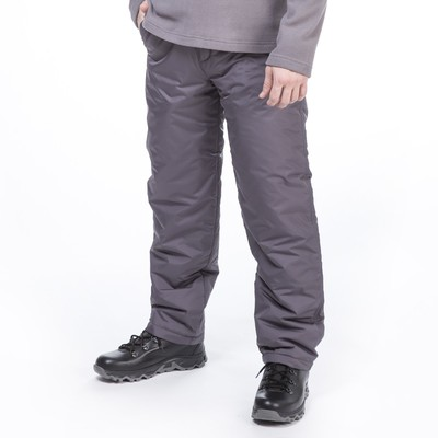 Брюки мужские цвет тёмно-серый, р-р 56