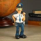 """Фигура """"Полицейская в очках"""" 25см"""