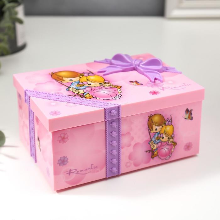 "Mechanical music box ""Gift"""