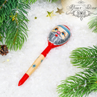 """Spoon wooden tea """"Santa Claus"""""""