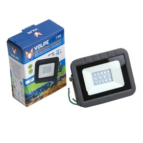 Прожектор светодиодный Volpe ULF-Q511, 10 Вт, 220 В, IP65, синий свет Ош