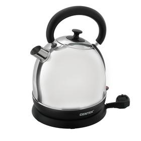 Чайник электрический Centek CT-1078, 2200 Вт, 2 л, металл, серебристый