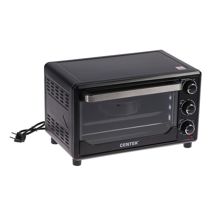 Жарочный шкаф Centek CT-1537-30, 1600 Вт, 30 л, 4 режима, черный