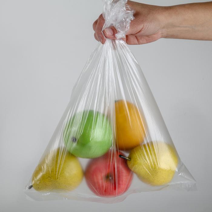 Пакеты для хранения продуктов, 30×40 см, 100 шт, цвет прозрачный