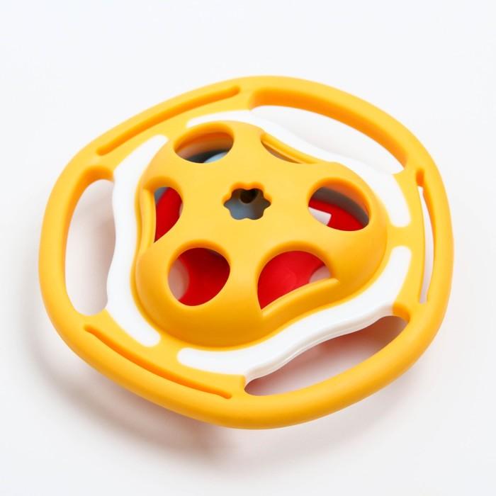 Прорезыватель с погремушкой «Звоночек» - фото 105526120