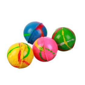 Мяч каучук 'Блеск' 2,4 см, цвета МИКС Ош