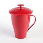Набор для заваривания чая и трав, цвет красный