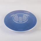 Тарелка 23 см с герметичной крышкой, цвет МИКС