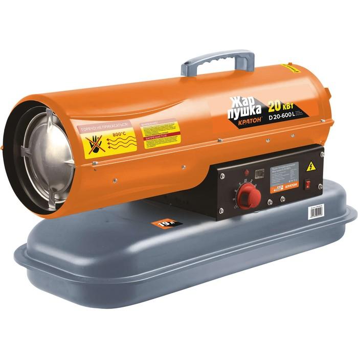 "Тепловая пушка ""Кратон"" Жар-пушка D 20-600 L, 20 кВт, 550 м3/час, дизельная"