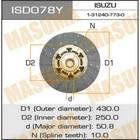 Диск сцепления Masuma  ISD078