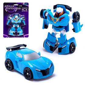 Робот «Автобот», трансформируется, цвета МИКС
