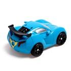Робот «Автобот», трансформируется, цвет синий - фото 105505840
