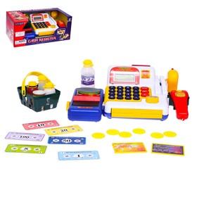 Игровой набор «Касса-калькулятор» с аксессуарами
