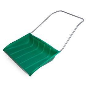 Движок пластиковый, размер ковша 75 х 55 см, металлическая планка Ош